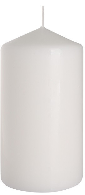 Свеча цилиндр белая оптом Bispol 15 см (sw80/150-090)