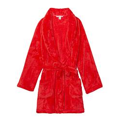 💋 Плюшевый Халат Victoria's Secret Cozy Plush XS/S, Красный