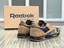 Кроссовки демисезонные мужские Reebok,коричневые, фото 3
