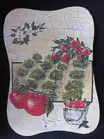 Картина на дереве в технике декупаж, 26х19х1,5см, 100\90