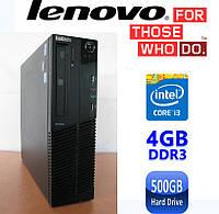 Lenovo M81 SFF - Intel Core i3-2100/ 4GB DDR3/ 500GB HDD Системный блок, Компьютер, ПК