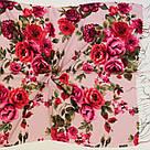 """Шарф кашеміровий турецький з квітами """"Аніта"""" (113-13), фото 2"""