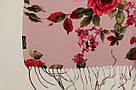 """Шарф кашеміровий турецький з квітами """"Аніта"""" (113-13), фото 3"""