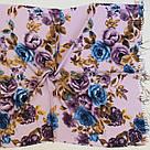 """Шарф кашеміровий турецький з квітами """"Аніта"""" (113-16), фото 2"""