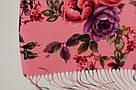 """Шарф кашеміровий турецький з квітами """"Аніта"""" (113-8), фото 4"""