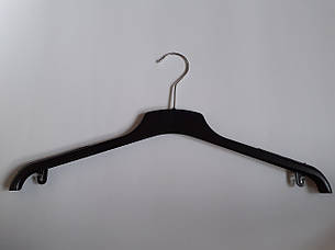 Прочные вешалки из двойного пластика для верхней одежды 47см, фото 2