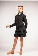 Пиджак школьный для девочки ТМ Фея Арт.П-52