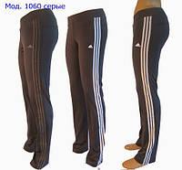 Спортивные брюки женские. Мод. 1060 (эластан), фото 1