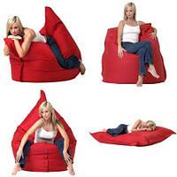Бескаркасное кресло-лежак Мат Ткань (цвета в ассортименте)