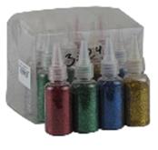 Блестки в бутылочкеразноцветные 3-246