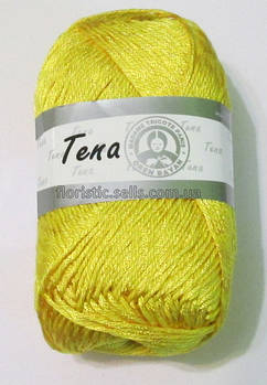 Пряжа Tena, желтая