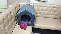 Мягкий домик для собак Барбос 45х45 см