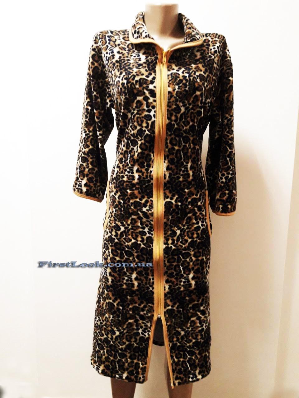 Женский велюровый халат( с 50 по 64 размер)