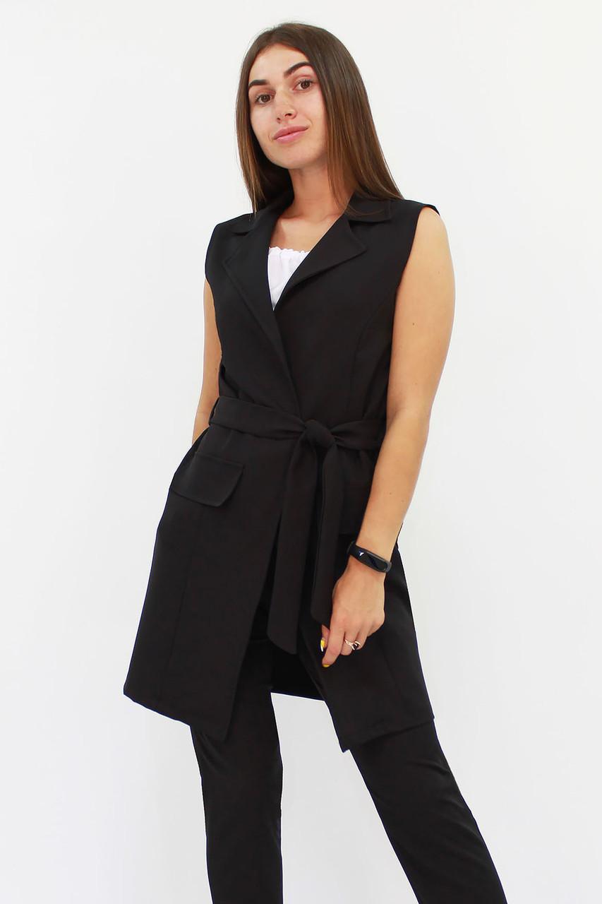 S, M, L, XL / Жіночий подовжений костюм Endru, чорний