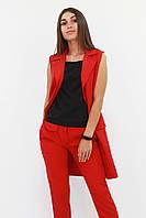 S, M, L, XL / Жіночий подовжений костюм Endru, червоний