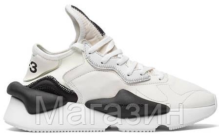 Мужские кроссовки adidas Y-3 Kaiwa Sneakers Yohji Yamamoto Grey Адидас Йоджи Ямамото серые, фото 2