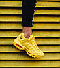 Женские кроссовки Nike Air Max 95 Yellow (Найк Аир Макс 95) желтые, фото 4