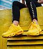 Женские кроссовки Nike Air Max 95 Yellow (Найк Аир Макс 95) желтые, фото 5