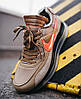 Мужские кроссовки NIke Air Max 720/90 x OFF White Beige Найк Аир Макс 720 90 ОФФ Вайт бежевые, фото 6