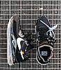 Мужские кроссовки NIke Air Max 720/90 x OFF White Black Найк Аир Макс 720 90 ОФФ Вайт черные, фото 4