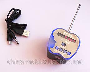 Портативная MP3 USB колонка, FM радио, AS-2012 MP3/SD/USB/AUX/FM, фото 2