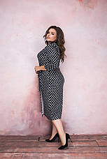 Женское элегантное платье на запах, фото 2