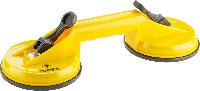 Присоска 14A780 Topex для стекла двойная, до 80 кг