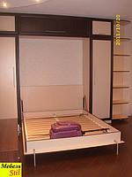 Двухспальная шкаф-кровать с угловым окончанием, фото 1