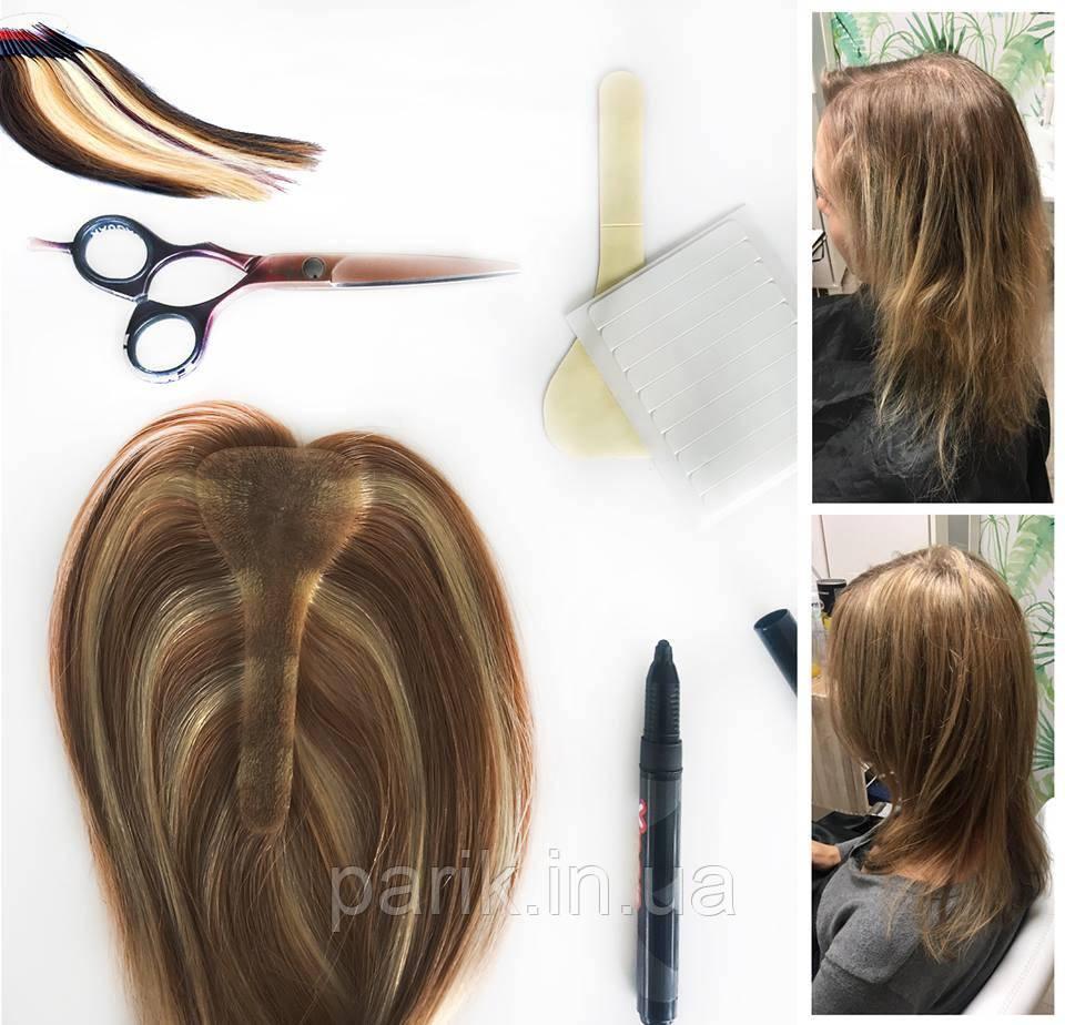 T-Parting (типатинг) из натуральных волос