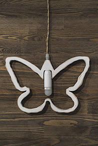 Декоративний підвісний світильник метелик