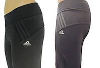 Спортивные брюки женские (эластан) темно-серые, фото 1