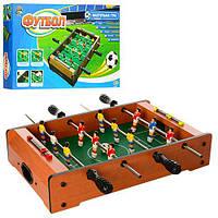 Настольный деревянный футбол на штангах Limo Toy 235AN: размер 49х31х8см