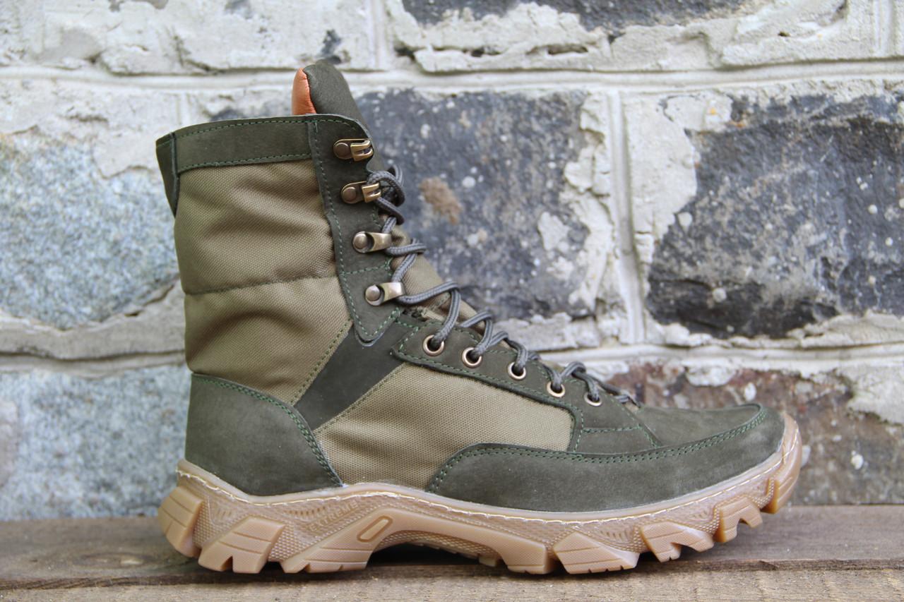 Ботинки Тактические берцы Демисезонные зеленые RZ 5154-5-3