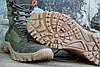 Ботинки Тактические берцы Демисезонные зеленые RZ 5154-5-3, фото 6