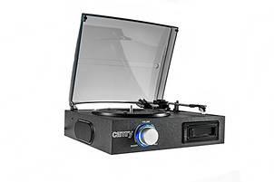 Проигрыватель Ретро - виниловых дисков (грампластинок) Camry CR 1154 + аудио кассеты