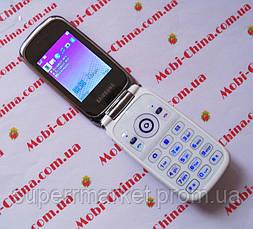 Копия  Samsung W666 dual sim - стильный телефон  самсунг 666, фото 2