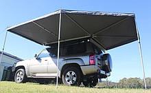 Автомобильная веерная маркиза с прямым углом COLUMBUS 2,5 м