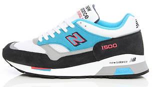 Мужские кроссовки New Balance 1500 в серо-голубом цвете