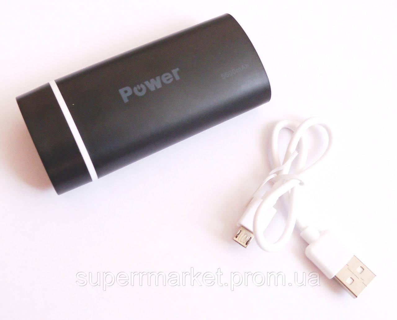 Универсальная батарея  mobile power bank  5600 mAh new