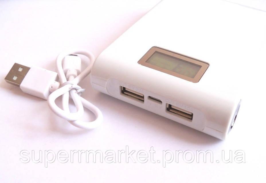 Универсальная батарея  mobile power bank  11000 mAh LCD