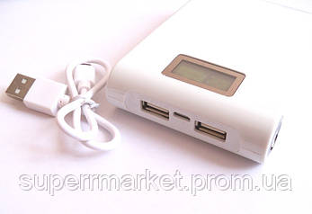 Универсальная батарея  mobile power bank  11000 mAh LCD, фото 2