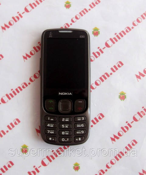 Копия Nokia 6303   NOAL   dual sim + TV