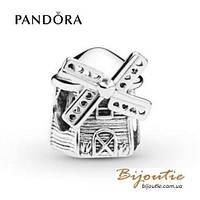 Шарм Pandora ВЕТРЯНАЯ МЕЛЬНИЦА #798126 серебро 925 Пандора оригинал