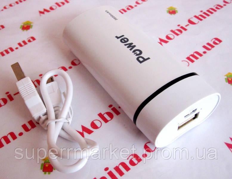 Універсальна батарея mobile power bank 5600 mAh new1