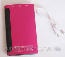 Универсальная батарея - Samsung Power Bank 12000 mAh, pink, фото 3