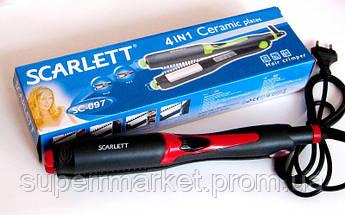 Утюжок-плойка для волос Scarlett SC-097 4в1, красная, фото 2