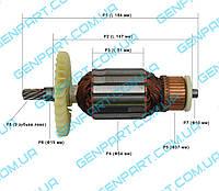 Якорь для торцовочной пилы  DWT KGS 16-255
