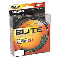 Шнур SALMO ELITE BRAID 0.15 Green 91м