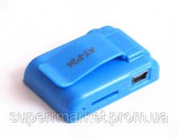 MP3- плеер Atlanfa AT-P24 цветной с прищепкой, blue, фото 2