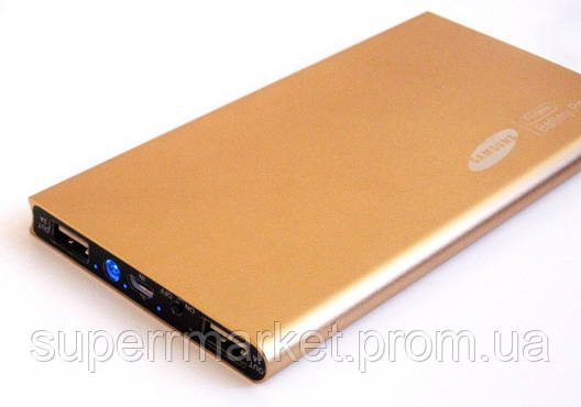 Универсальная батарея - Samsung Power bank 18000 mAh, gold, фото 2